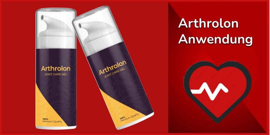 Arthrolon Anwendung