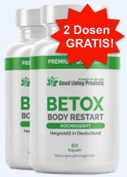 Betox Body Restart Abbild Tabelle