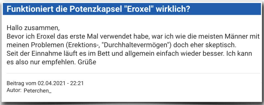 Eroxel Erfahrungsbericht Bewertung Erfahrungen Erfahrung Testbericht