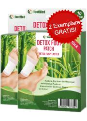 Nuubu Detox Foot Patch Abbild Tabelle